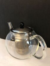 BODUM Glass Tea Pot with removable Stainless Steel Infuser Stylish