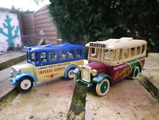 DAYS GONE by LLedo lot 2 BUS 1930 Brighton et IMPERIAL AIRWAYS comme neuf