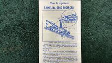 s l225 lionel magnetic crane ebay Lionel 165 Crane Motor Wiring at pacquiaovsvargaslive.co