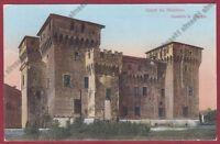 MANTOVA CITTÀ 78 CASTELLO Cartolina viaggiata 1915