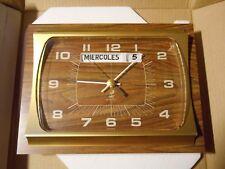 Horloge pendule formica JAZ NOS NEUVE BOITE ESP clock old