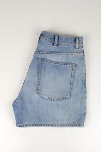 33756 Acne Studios Canoë Bleu Clair Bleu Femme Short Taille 30