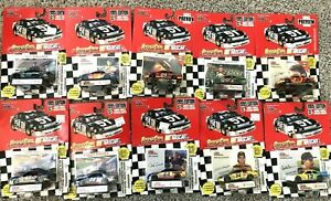 1995 Nascar Racing Champions Stock Cars 1/64 DieCast Lot of 10 NewInBox No Dups
