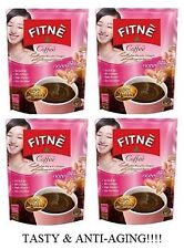 4x10 sachets of Fitne Instant Coffee with Collagen and Vitamin C ,Anti-aging!!