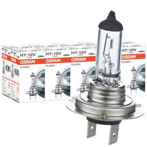 100x Osram H7 64210 Classic CLC Lampe 12V 55W 64210CLC Autolampe Glühlampe Birne