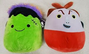 Lock and Frankie Lot of (2) Halloween Squishmallows NWT