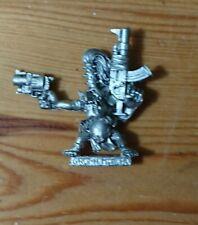 Classic Games Workshop Gorkamorka Warhammer 40K Ork Grot Head Honcho Metal