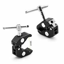 """SmallRig 2pcs Super Clamp with 1/4"""" 3/8"""" Threads Camera Mount  For φ15-44mm Rods"""