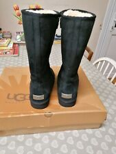 Genuine Black Uggs Size UK 6.5 New With Box
