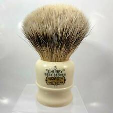 Simpson Chubby 3 Best Badger Shaving Brush CH3B - by Simpsons (Pre-Owned)