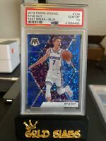 PSA 10 - 2019-20 Mosaic RC - Kyle Guy - Blue Fast Break Disco #20/85 - POP 1