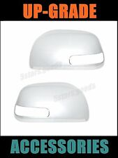 Accessories Chrome Door Side Light Mirror Covers Trims For 2006-2012 Toyota RAV4