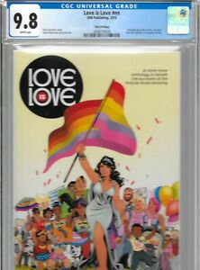 Love is Love 1 IDW Publishing 1st Harry Potter in Comics CGC 9.8 3rd VARIANT
