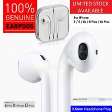 Genuine Apple EarPods Headphones Earbuds Earphones For iPhone 6 6s 5 4 Plus iPad