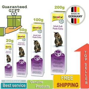 20-200g GimCat Malt Soft Paste Extra For Cats Anti Hairball Complex(Remedy)