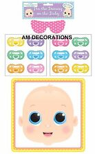 Pin The Dummy On The Baby Shower Party Game 12 Multi Players Unisex Boy Girl