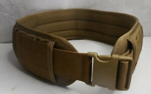 Tactical OneTigris Waist Belt Military Soft Padded Combat Size: Large Desert Tan