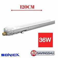 LED Batten Light Tri-Proof Fitting Replacement T8 Fluorescent IP66 4FT (120CM)