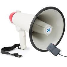 PROFI MEGAFON LAUTSPRECHER MIKROFON SIRENE AUFNHAME FUNKTION MEGAPHONE 1000M 40W
