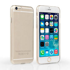 Thin Crystal Clear Hard Plastic Snap On Case Back Cover Apple iPhone 6 6S
