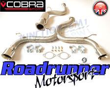 """Cobra Focus ST225 Sistema De Escape De Acero Venom 3"""" Gato Back-fuerte FD24-TP38"""