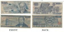 OLD Mexican Banknotes nice condition Obsolete