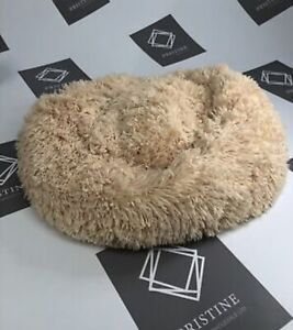 Small Cosy Fluffy Dog/Cat Bed - 21 X 21 inch