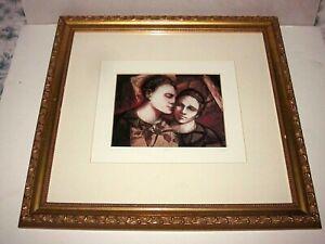 Framed/Matted Catherine & Dennis Angel limited Edition offset print 18/200