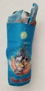 NEW Disney Parks Mickey Mouse Multi-Chatacter Umbrella NEW NEVER USED