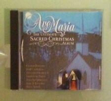 AVE MARIA THE ULTIMATE SACRED CHRISTMAS ALBUM   CD