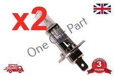 2 X 12v Bombilla Halógena H1 55w coche E4 certificado 131011 más barato