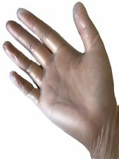 Disposable Vinyl Gloves Powder & Latex Free Size XL Box of 100