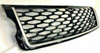 SVO Style Gloss Black Grille & Silve Trim Fit:Range Rover Vogue L405 2013-18