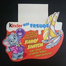 "Original Palettenanhänger ""Funny Fanten Stars i. d. Manege"" Deutsch 1998 Maxi Ei"