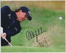 PHIL MICKELSON signed Champion 8x10 photo AUTOGRAPH auto Masters Open GOLF JSA