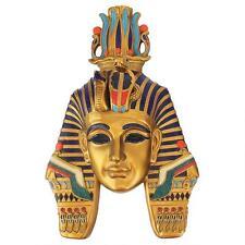 Ancient Egyptian Dynasty Pharaoh Mask Wall Sculpture