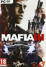 Mafia III 3 PC DVD  Brand New & Boxed Physical Game Disc Free Postage Royal Mail