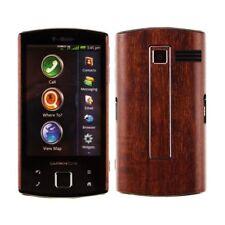 Skinomi Phone Skin Dark Wood Cover+Screen Protector for Garmin-Asus Nuvifone A50