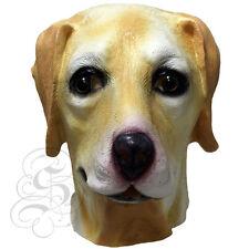 Latex Full Head Animal Golden Labrador High Quality Fancy Dress Up Carnival Mask