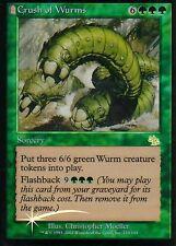 Crush of gusano foil | ex | Judgment | Magic mtg
