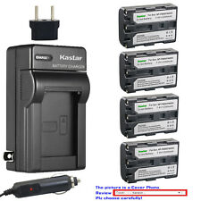 Kastar Battery AC Travel Charger for Sony NP-FM50 & Cyber-shot DSC-F828 DSC-R1