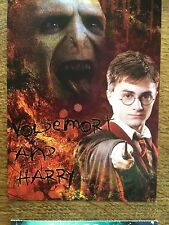 Harry Potter And The Order Of The Phoenix Colour Postcard Warner Bros Film 2