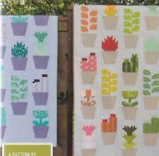 Greenhouse - fun modern pieced quilt PATTERN - Elizabeth Hartman