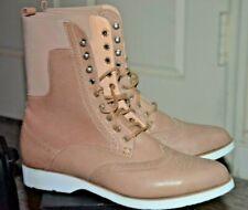 HESS NATUR beige chic beige boots urban cowgirl EUC Size 39 EUR women's 8 US