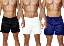 Mens Rugby Shorts 100% Cotton Gym Leisure Training Fitness Active Wear 3 colours