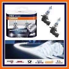 2x OSRAM hb3 Nightbreaker Unlimited +110% abbaglianti ALFA AUDI BMW MAZDA e molto altro