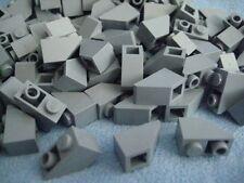 100 Stück Lego Ziegel 3040 Dachstein 2x1 1x2 dunkel beige dark tan 45° 2x1 Neu