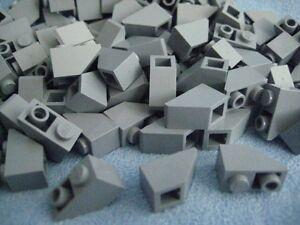 3665 LEGO Dachstein invers 45° 2 x 1 20 x hell-blaugrau neu