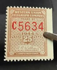 us telegraph stamps Scott 16T111 MLH OG