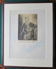 Rare Signed Franz Löwy Ballet Russe Photograph Possibly Anton Dolin Costume 1922